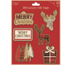 LUXURY CONTEMPORARY CHRISTMAS GIFT TAGS