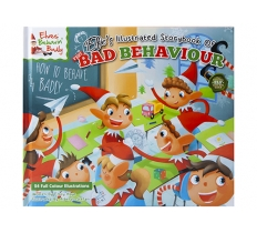 DELUXE HARDBACK BOOK ELFIES BOOK OF BAD BEHAVIOUR