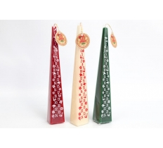 30CM ELF ADVENT CANDLE