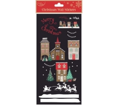 WALL STICKERS XMAS HOUSE