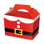 SANTA SUIT FOOD BOXES