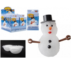 MAKE YOUR OWN SLUSHY SNOWMAN WITH ACCESSORIES