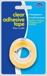 Clear Adhesive Tape 19mm x 33m
