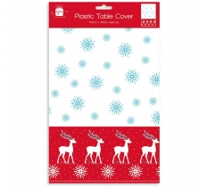 CHRISTMAS PARTY TABLECOVER CHRISTMAS CONTEMP