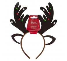 REINDEER ANTLER WITH BELLS