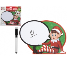 ELF SPEECH BUBBLE WIPE ON SELF STANDING SIGN WITH SPONGE