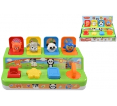 POP UP ANIMALS IN OPEN TOUCH BOX - 12 Months +