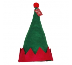 *** OFFER *** ELF HAT WITH RED POM POM