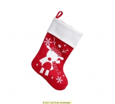 DELUXE PLUSH STOCKING 40CM X25CM