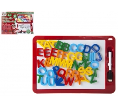 ELF MAGNETIC WHITE BOARD WITH MAGNETIC LETTERS & PEN