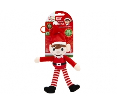 18cm PLUSH ELF ON HANGING CLIP