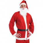 Adult Santa Suit / Costume ONE SIZE FITS ALL