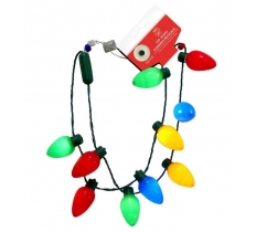 LED LIGHT BULBS NECKLACE MULTI TRY ME