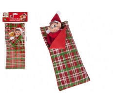 "4.7"" X 12"" PATTERNED ELF SLEEPING BAG"