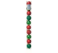 10 x 60mm Red-Green MultiFinish Balls