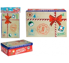 SMALL SPECIAL DELIVERY CHRISTMAS EVE BOX 21cm x 32cm x 11cm