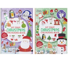 EXTRA LARGE XMAS COLOURING BOOK