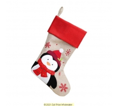 Deluxe Plush Stocking 40cm X 25cm