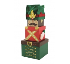 *** PREORDER *** 3PC PLUSH BOX NUTCRACKER (ETA 30/7/20)