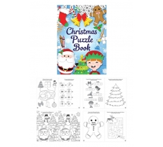 CHRISTMAS FUN PUZZLE BOOK 10.5CM X 14.5CM