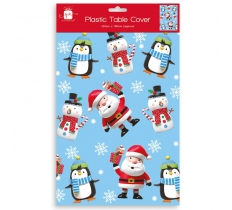 CHRISTMAS PARTY TABLECOVER KIDS CHARACTERS