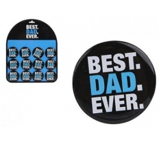 5CM BEST DAD EVER MAGNET 12PC DISPLAY
