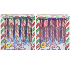 PACK OF 10 XMAS CANDY CANE