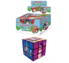RULDOLPH CHRISTMAS PUZZLE CUBE 7CM