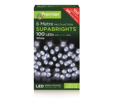 100 White Multi Action LED lights