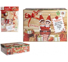 MEDIUM ELF XMAS EVE BOX 45cm X 34cm X 12.5cm