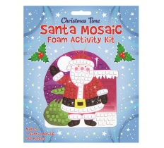 MOSAIC SANTA CRAFT KIT