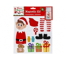 23X23CM MULTI SECTION ELF PRINTED MAGNETIC SHEETS