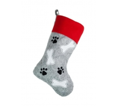 ** OFFER ** PET BONE DESIGN CHRISTMAS STOCKING