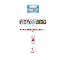 STATIONERY SET 4 PC ELFIN AROUND