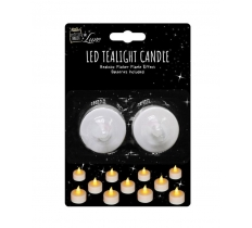 LED TEALITE CANDLE 2pc FLICKER