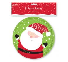 *** OFFER *** XMAS 8 PLATES KIDS