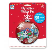 XMAS 50 PUFFY STICKERS