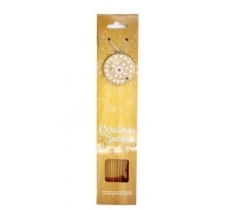 PACK OF 40 GOLD XMAS INCENSE STICKS WITH JEWEL