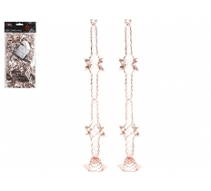 PACK OF 2 SECTION ROSE GOLD GARLAND