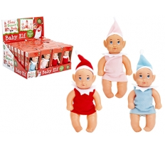 13cm VINYL BABY ELF WITH NIGHT SHIRT