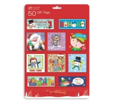 Christmas 50 Novelty Gift Tags