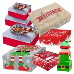 GIFT BOXES & HAMPERS