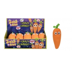 Jokes & Gags Squeezy Crazy Carrot Toy