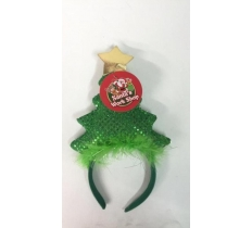 CHRISTMAS TREE HEADBAND (12/48)