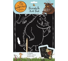The Gruffalo Scratch Art