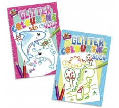 GLITTER COLOURING BOOK