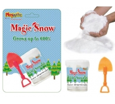 Magic Snow with Shovel 12.5cm x 18cm