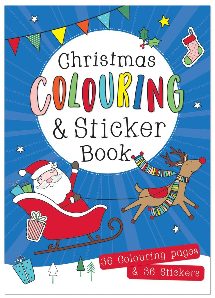 Christmas Colouring & Sticker Book (NO VAT)