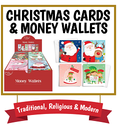 Christmas Cards & Money Wallets