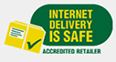 Internet Delivery is Safer - Accepted Retailer